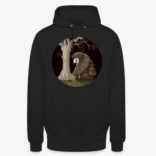 Hérisson du renouveau - Sweat-shirt à capuche unisexe