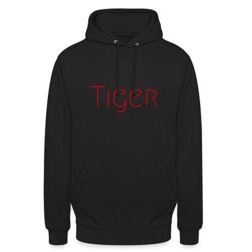 Tiger - Sweat-shirt à capuche unisexe