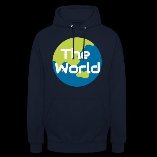 The World Earth - Hættetrøje unisex