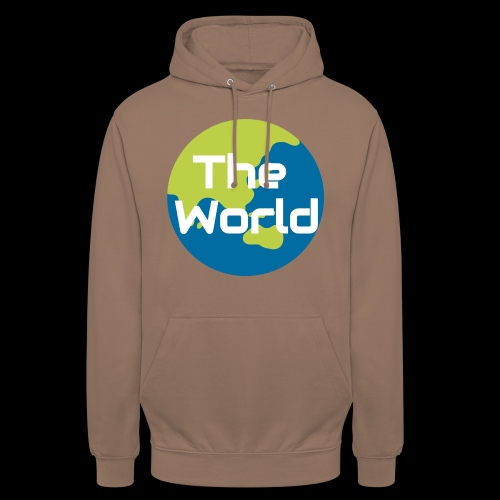 The World Earth - Hættetrøje unisex