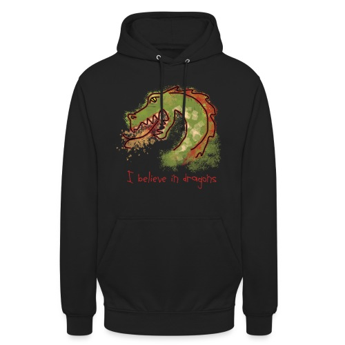 I believe in dragons - Unisex Hoodie