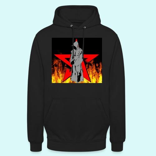 moine et pentagramme - Sweat-shirt à capuche unisexe