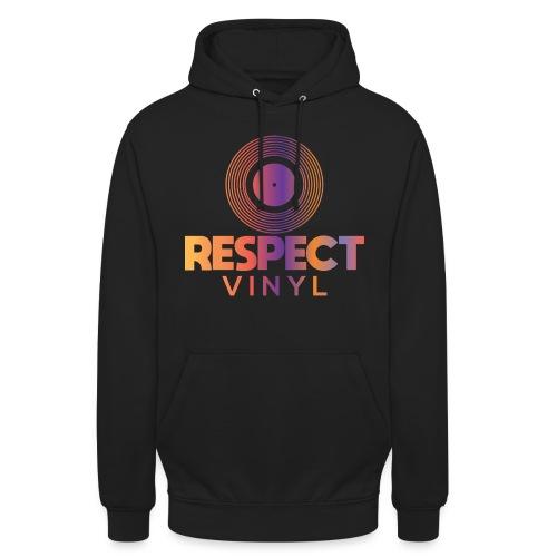 Disco Sisco • Respect Vinyl - Unisex Hoodie