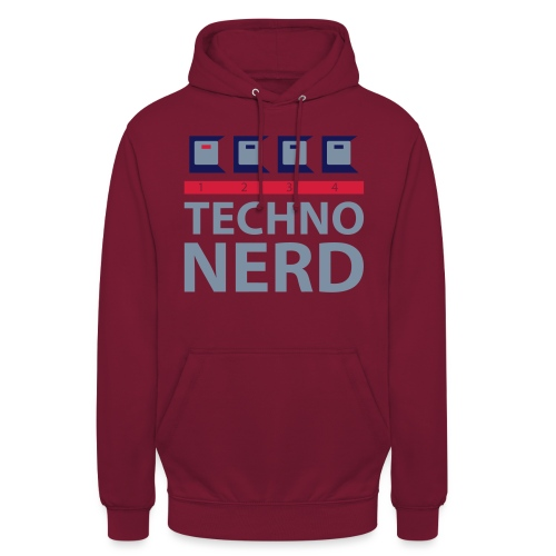 Techno Nerd - Unisex Hoodie