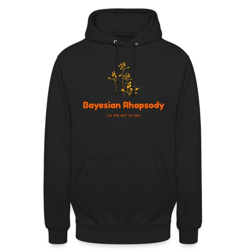 Bayesian Rhapsody Original Orange classique - Sweat-shirt à capuche unisexe