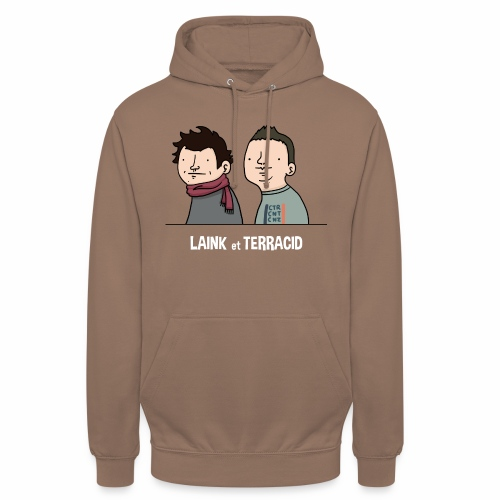 Laink et Terracid old - Sweat-shirt à capuche unisexe