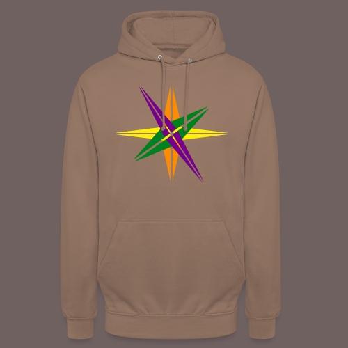 GBIGBO zjebeezjeboo - Love - Couleur d'étoile brillante - Sweat-shirt à capuche unisexe
