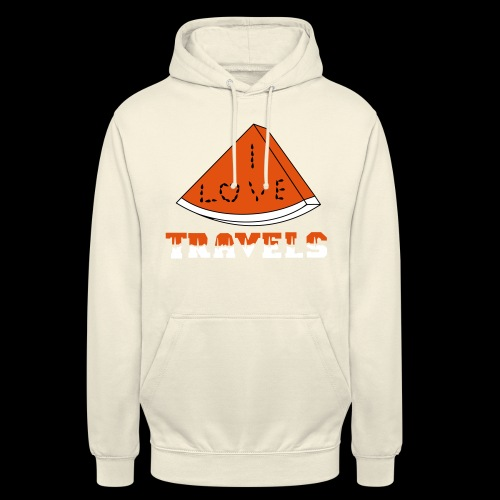 I LOVE TRAVELS FRUITS for life - Unisex Hoodie