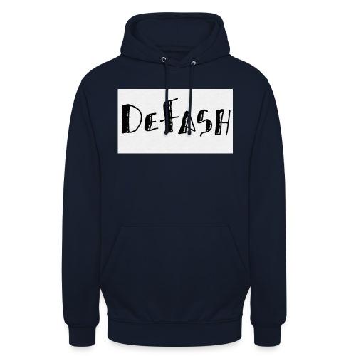 Defash1-png - Sweat-shirt à capuche unisexe