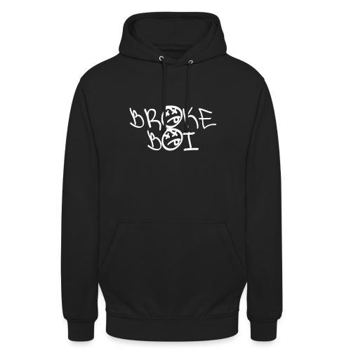 BROKEBOIBOUTIQUE - WHITE - Unisex Hoodie