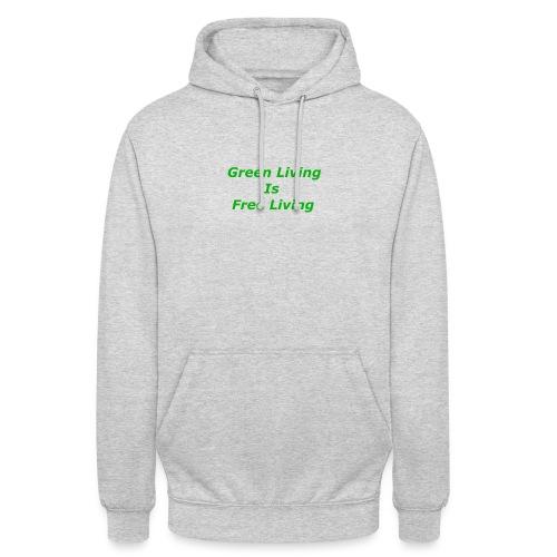 Green Living - Hættetrøje unisex