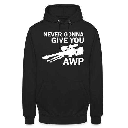 "Never gonna give you AWP - Huppari ""unisex"""