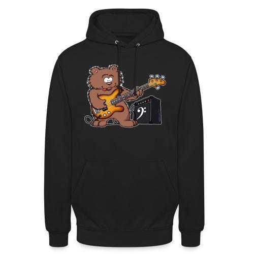 HoneyBear_BassPlayer_HB - Sweat-shirt à capuche unisexe