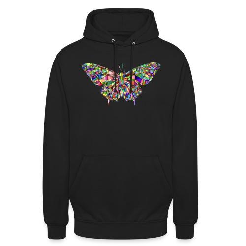 Geflogener Schmetterling - Unisex Hoodie