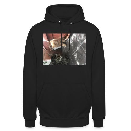 I gatti - Felpa con cappuccio unisex