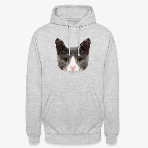 Triangle Cat - Unisex Hoodie