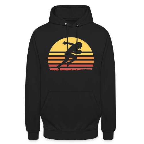 Football Sunset - Unisex Hoodie