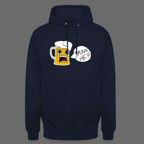 Bière - Sweat-shirt à capuche unisexe