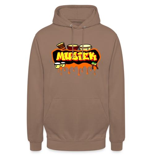 MUSIEK 2 - Sweat-shirt à capuche unisexe