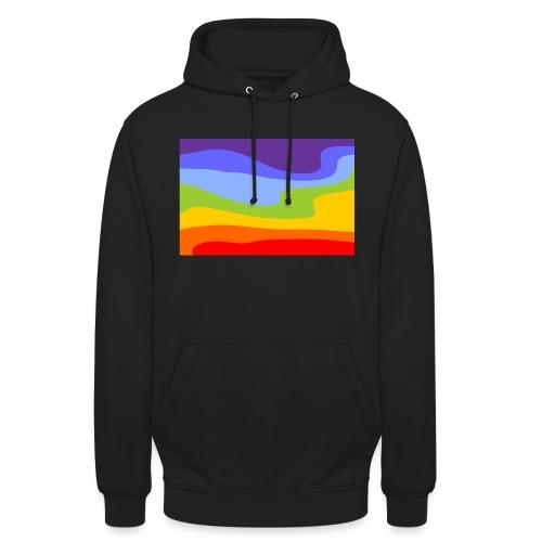 Hintergrund Regenbogen Fluss - Unisex Hoodie
