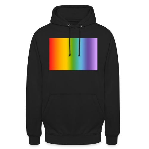 Hintergrund Regenbogen soft - Unisex Hoodie