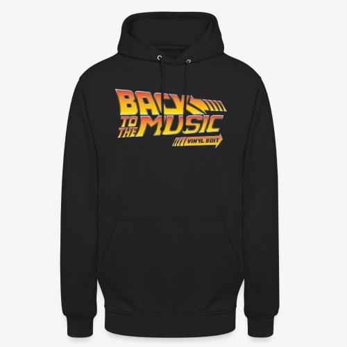 Back to the music Vinyl Edit - Sweat-shirt à capuche unisexe
