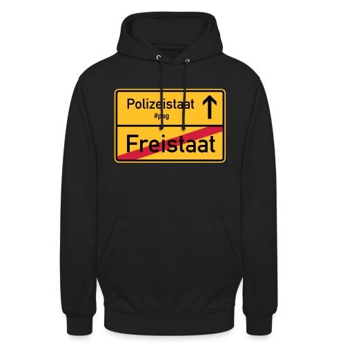 Freistaat Bayern Polizeistaat - Unisex Hoodie