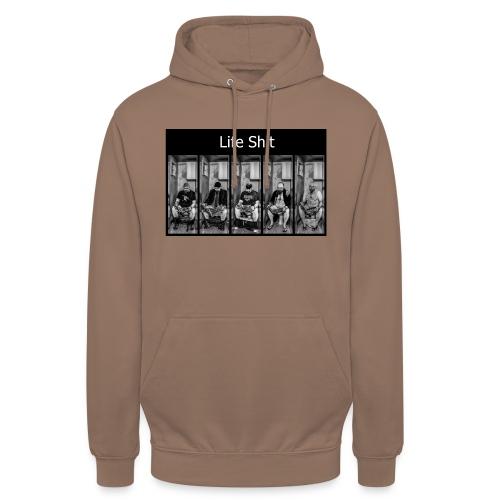LifeShit - Sweat-shirt à capuche unisexe