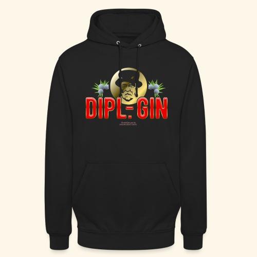 Gin T Shirt Design Dipl.-Gin - Unisex Hoodie