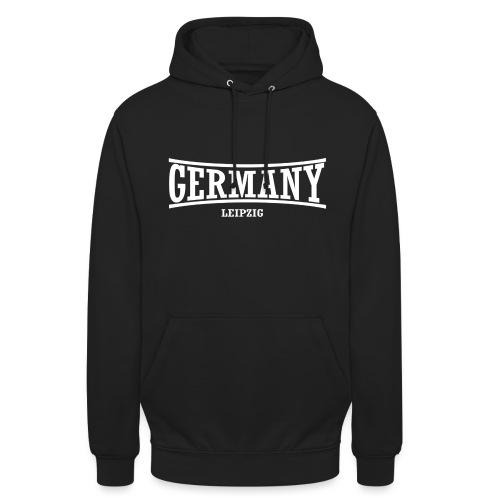 germany-leipzig-weiß - Unisex Hoodie