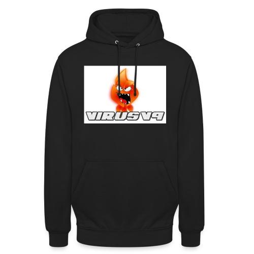 Virusv9 Weiss - Unisex Hoodie