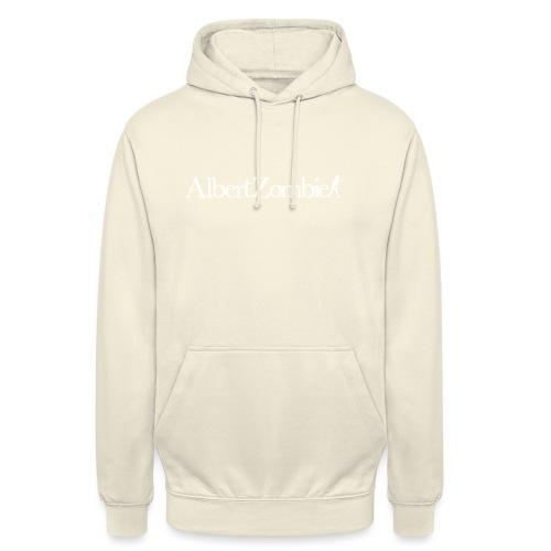 Albert Zombie White - Sweat-shirt à capuche unisexe
