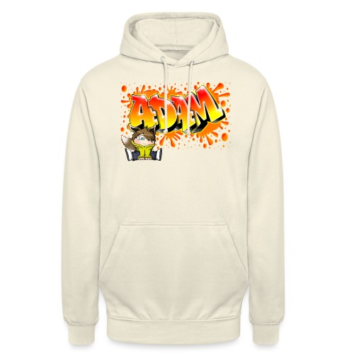 Graffiti Adam Splash - Sweat-shirt à capuche unisexe