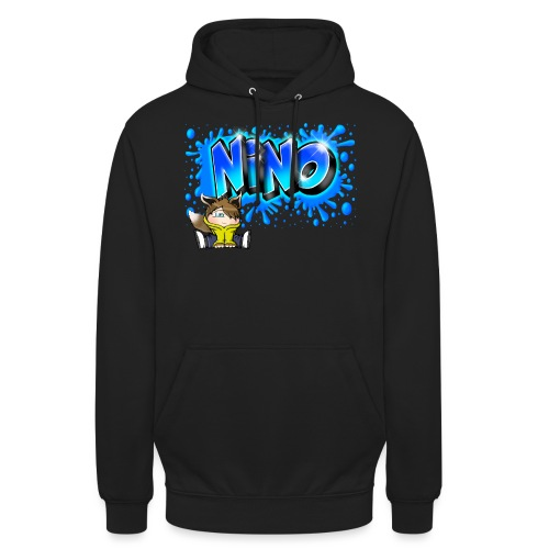 nino Graffiti name printable free - Sweat-shirt à capuche unisexe
