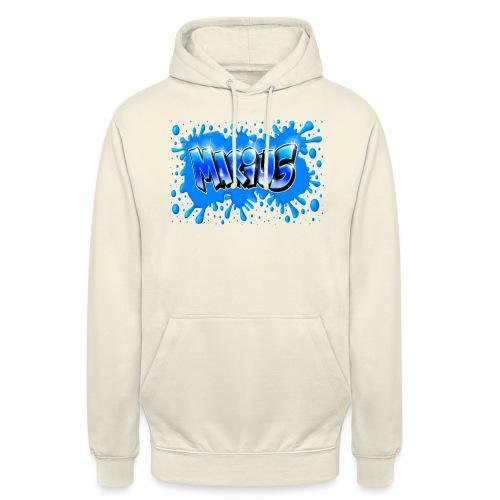 Graffiti Marius Splash - Sweat-shirt à capuche unisexe
