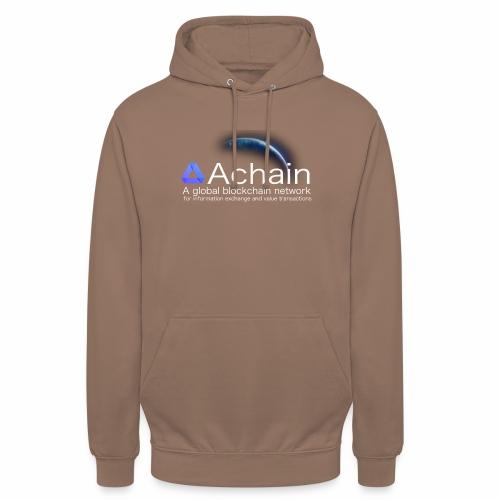 Achain, planet Earth - Felpa con cappuccio unisex