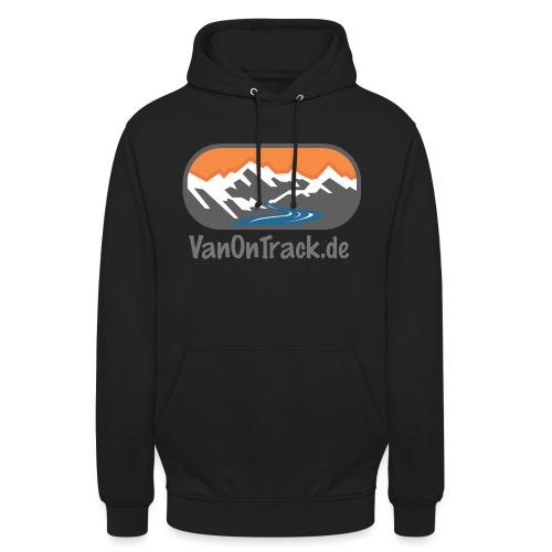VanOnTrack Logo Berge, See und Freihet - Unisex Hoodie
