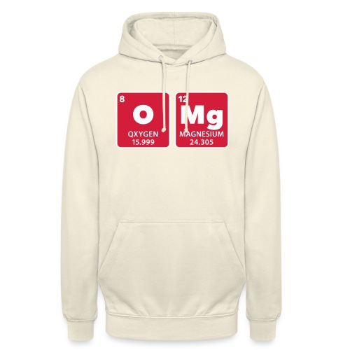 periodic table omg oxygen magnesium Oh mein Gott - Unisex Hoodie