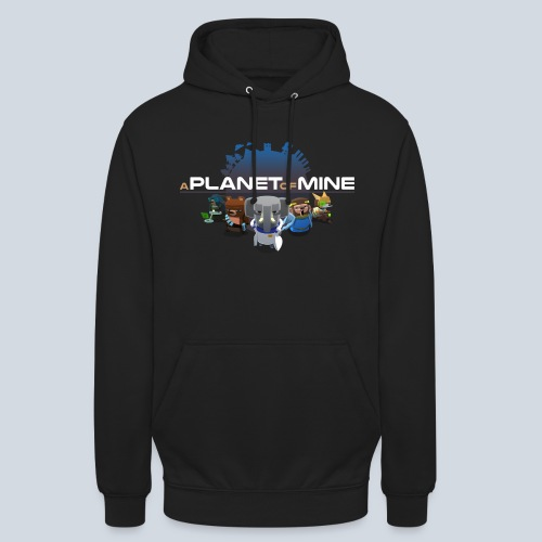 logo planetofmine dark HD - Sweat-shirt à capuche unisexe
