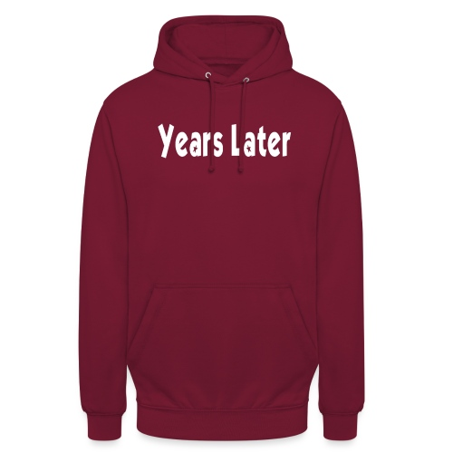 Bandname Years Later weiß - Unisex Hoodie