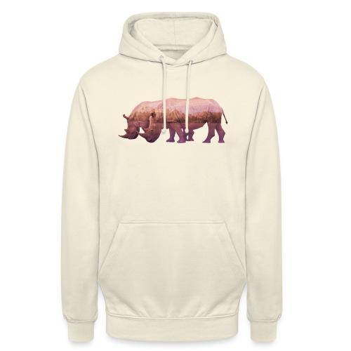 Nashorn Alpen - Unisex Hoodie