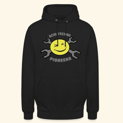 ACID TECHNO PIONEERS - SILVER EDITION - Unisex Hoodie
