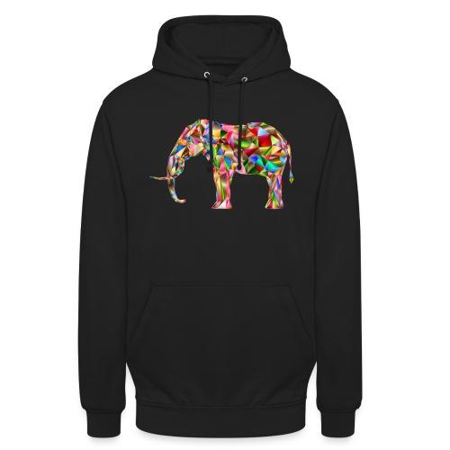 Gestandener Elefant - Unisex Hoodie