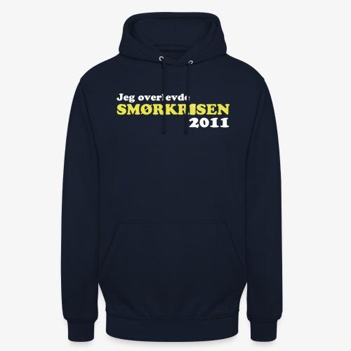 Smørkrise 2011 - Norsk - Unisex-hettegenser