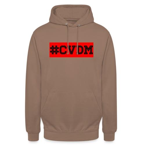 Maglietta uomo bianca #CVDM - Felpa con cappuccio unisex