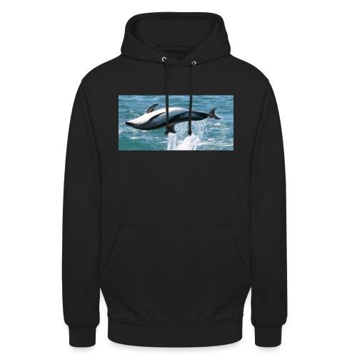 Dolphin - Sweat-shirt à capuche unisexe