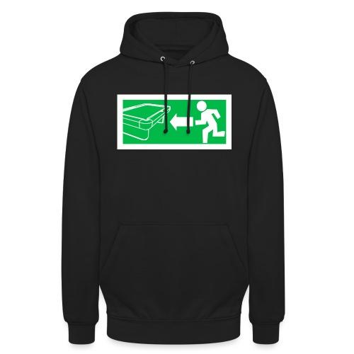 "Billard Shirt ""Notausgang Billard"" - Pool Billard - Unisex Hoodie"