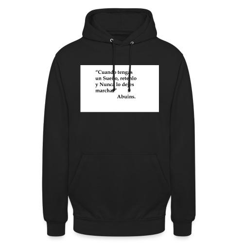 Frase camiseta Abuins 2 editado 1 - Sudadera con capucha unisex