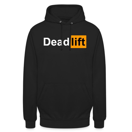 DeadLift X - Sweat-shirt à capuche unisexe