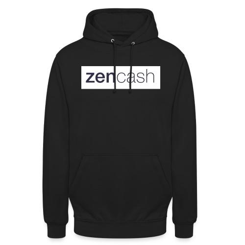 ZenCash CMYK_Horiz - Full - Unisex Hoodie